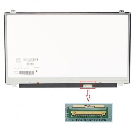 "Display Laptop Fujitsu-Siemens Lifebook E753 15.6"" 1920X1080 40Pin Slim Led"