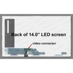 "Display Laptop Au Optronics B140Xw01 V.3 14.0"" 1366X768 40Pin Led"
