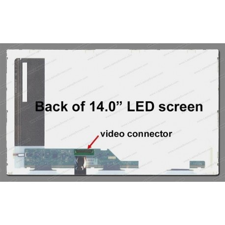 """Display Laptop Packard Bell Easynote Nj31 14.0"""" 1366X768 40Pin Led"""