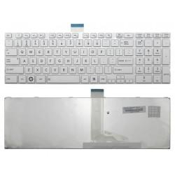 Tastatura Laptop Toshiba Satellite C855-1N0 noua alba cu rama