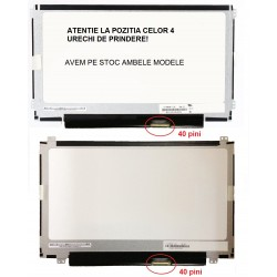Display laptop nou 11.6 slim 40 pini compatibil Acer Aspire One 722 AO722 prindere sus/jos