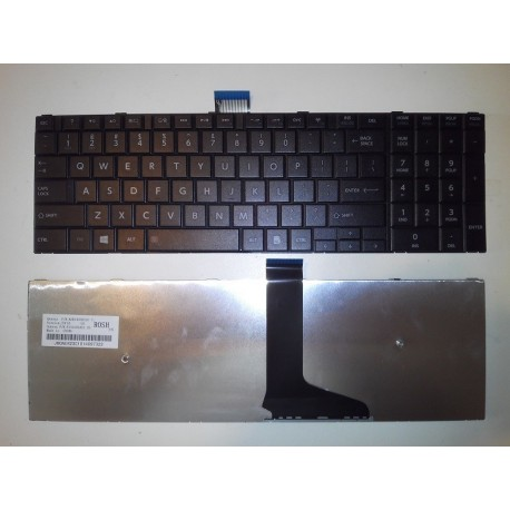 Tastatura Laptop Toshiba Satellite C50 Neagra Us/Uk