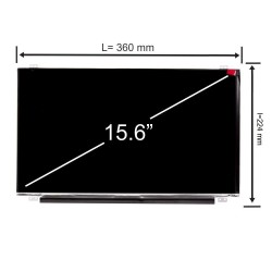 Display laptop AUO AUO11ED 15.6 inch 1920x1080 Full HD IPS 30 pini 96% color space sRGB