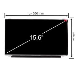 Display laptop Innolux CMN15C0 15.6 inch 1920x1080 Full HD IPS 30 pini 96% color space sRGB