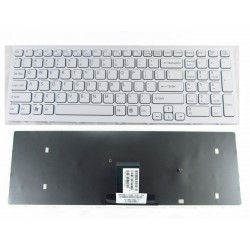 Tastatura Laptop Sony Vaio seria VPCEB cod 1-4879-282-1 148792821 148793221 148965911 noua alba US