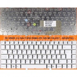 Tastatura Laptop Sony Vaio PCG-7185M PCG-7186M VAIO VGN-NW VGNNW Alba UK/Spaniola noua originala