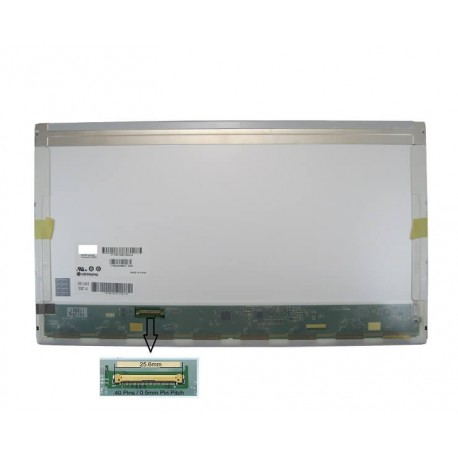 """Display Laptop Acer Asus Msi Lenovo Packard-Bell Dell Samsung HP Compaq 15.6"""" 1366X768 40Pin Led grosime normala"""