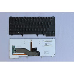 Tastatura noua originala DELL Latitude E5420 E5420M E6220 E6230 cu iluminare US neagra