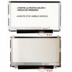 Display laptop nou 11.6 slim 40 pini compatibil AU Optronics B116XTN04.0 HW1A prindere stanga/dreapta